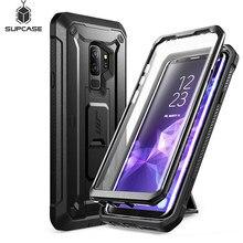 SUPCASE do Samsung Galaxy S9 Plus jednorożec Beetle UB Pro odporna na wstrząsy wytrzymała obudowa z wbudowanym ochraniaczem ekranu i podstawką