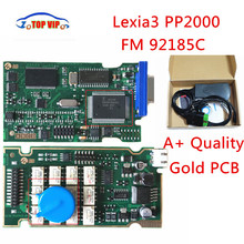 Best Price Top Related Gold PCB Lexia 3 High Quality V7.83 Firmware 92185C Lexia3 pp2000 OBD2 Diagnostic
