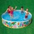 244*46 cm Envío inflable piscina redonda Sin bomba de aire piscina bebé piscina para niños bañera de plástico de caucho duro libre piscina inflable