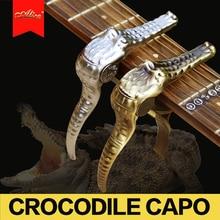 Alice design Crocodile guitar Capo for Electric & Acoustic Guitar / Folk Guitar Capo / Guitar Accessories