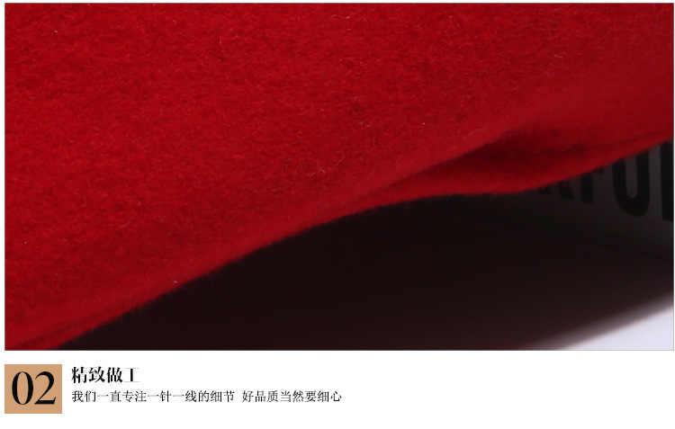 Женские Симпатичные Британский Австралийский 100% шерстяная шляпа Для женщин французской леди Кепка художника Boina Feminino Шапки девушки береты шляпка для официальных мероприятий