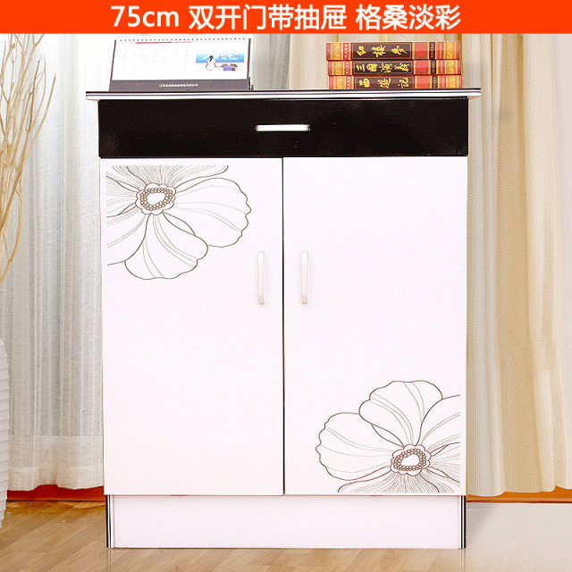 open double door drawing. Shoe Cabinet Rack Double Open The Door Colored Drawing Paint Shelf