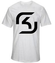 SK Gaming Esport T Shirt CSGO LOL CS Men T Shirt SK.Gaming LOGO Tees camiseta clothing