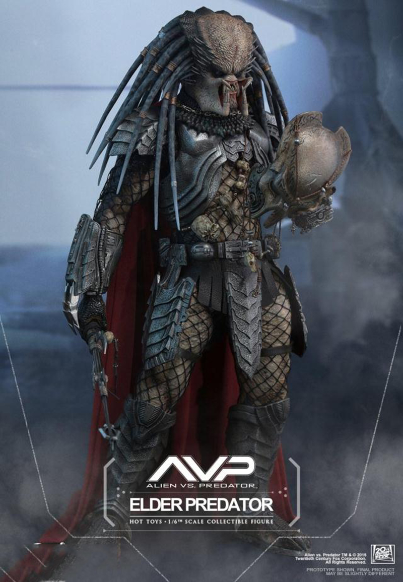 Hot Toys MMS325 AVP 1/6th scale Elder Predator Collectible Figure SpecificationHot Toys MMS325 AVP 1/6th scale Elder Predator Collectible Figure Specification