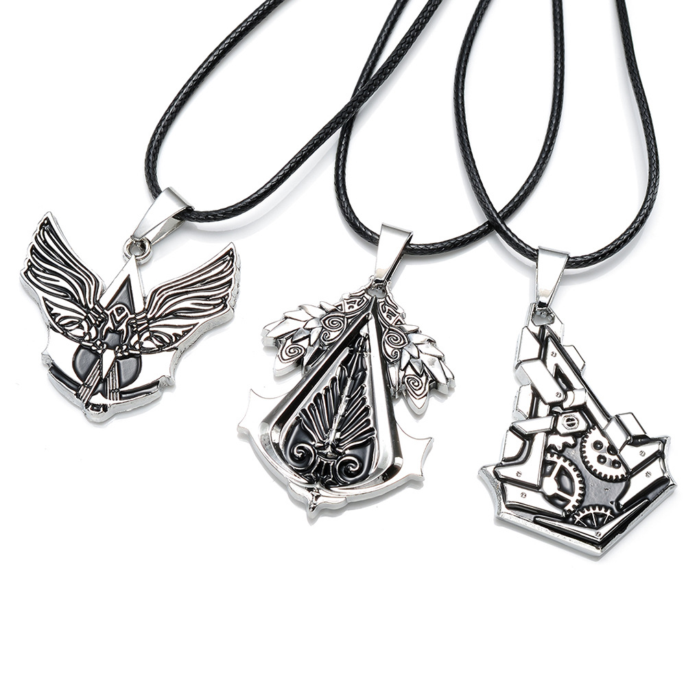 Assasins Creed Necklace Connor Amulet Assassins Creed Gear Pendant necklace ...