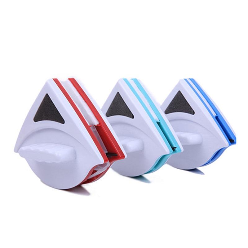 Casa limpiador de ventanas de vidrio limpiador herramienta doble cepillo magnético para el lavado de ventanas de vidrio cepillo de limpieza de herramientas 3-30mm