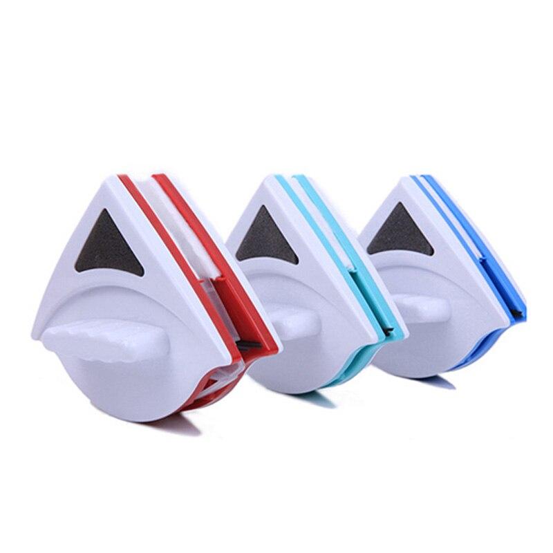 Hause Scheibenwischer Glasreiniger Werkzeug Double Side Magnetic Pinsel für Waschen Windows Glas Bürstenreinigung Werkzeuge 3-30mm