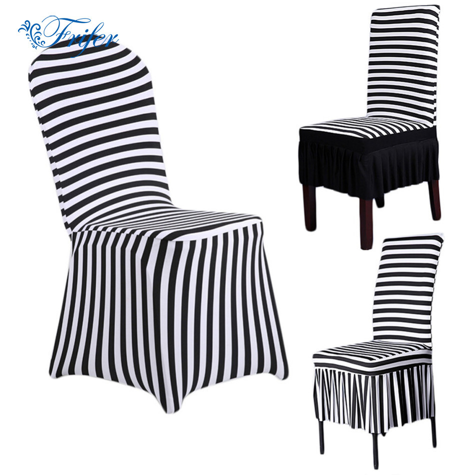 New Spandex Stretch Dining Chair Cover Machine Washable