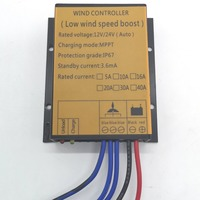 400w MPPT charge controller for wind turbine generator 12v/24v auto distinguish