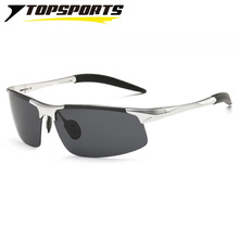 TOPSPORTS Sports Cycling men Glasses  Polarized UV400 Sunglasses Al-Mg frame driving fishing bike Eyewear bicycle eyeglass