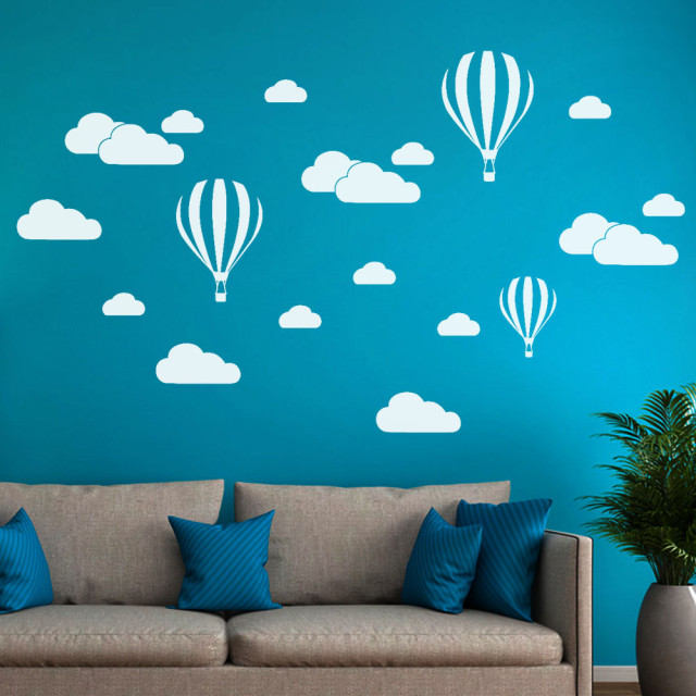 Balloon Cloud Wall Sticker Decal