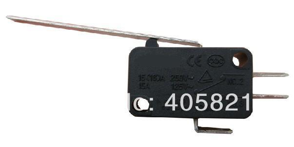 Micro switch,limit switch HV-153-1C25 KW7-9, silver contact 100pcs/Box