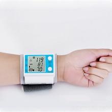 Cuff Wrist Sphygmomanometer Blood Pressure Meter Monitor Heart Rate Pulse Portable Tonometer BP