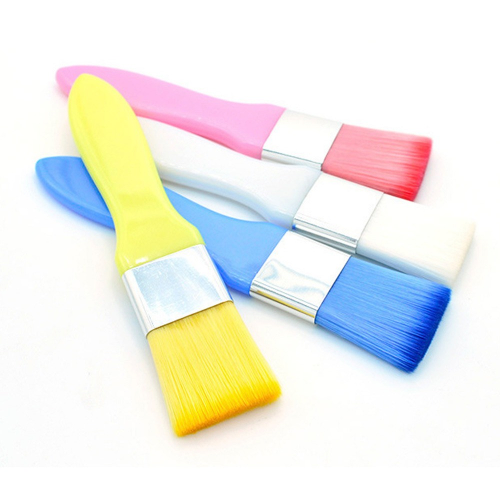 New Fashion Accessories Perfect Match Brushed Beauty Mask Makeup Brush Color White Blue Yellow Pink Color