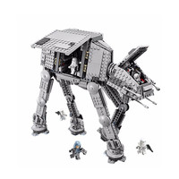1206pcs Diy Star Series Wars Block Force Awaken AT Transpotation Armored Robot Compatible With Legoingly Brick
