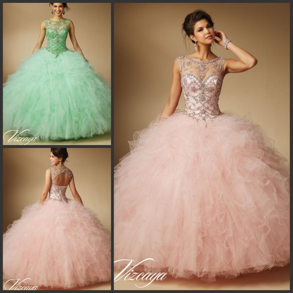Aliexpress.com : Buy Fashion Sweet 16 Dresses Scoop Neck Crystal ...