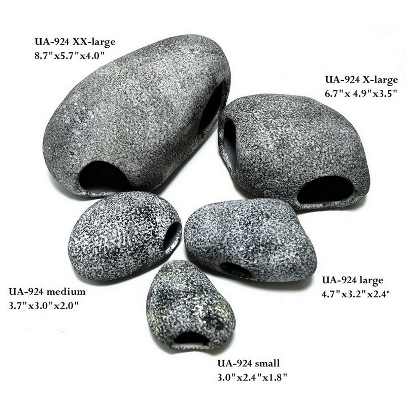 New arrival aquarium ceramic rock cave stone decoration for Aquarium stone decoration