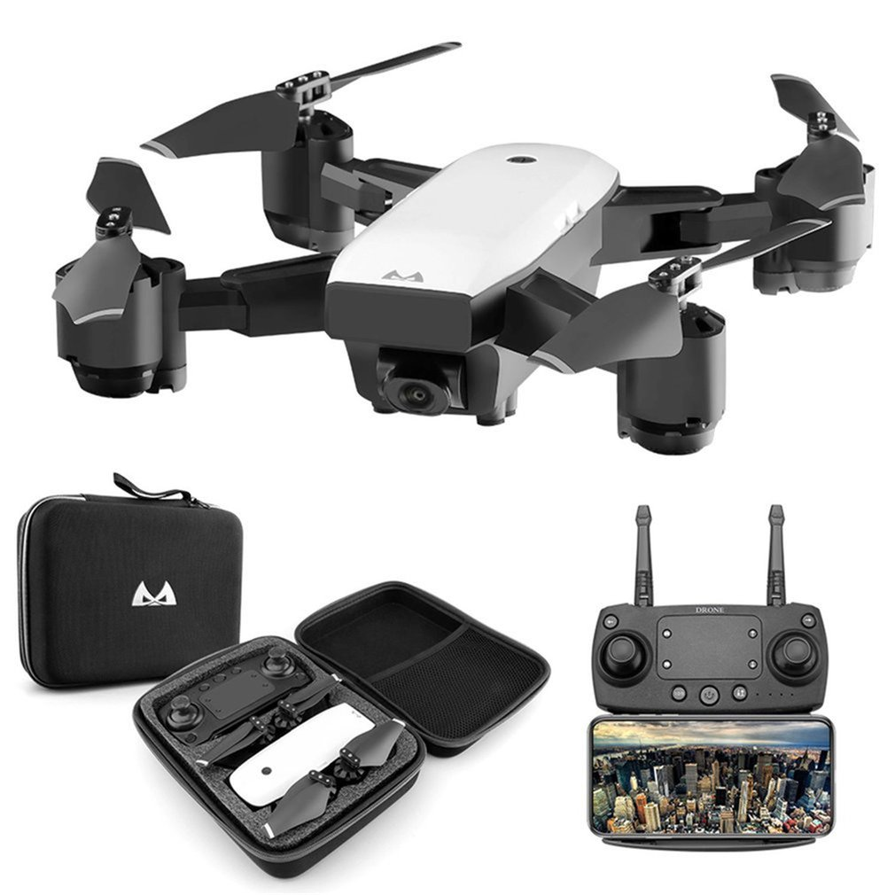 SMRC S20 Foldable 6-axis Gyro FPV Drone RC Quadcopter With 360' Flips Wide Angle 1080P Camera Altitude Hold Three Batteries