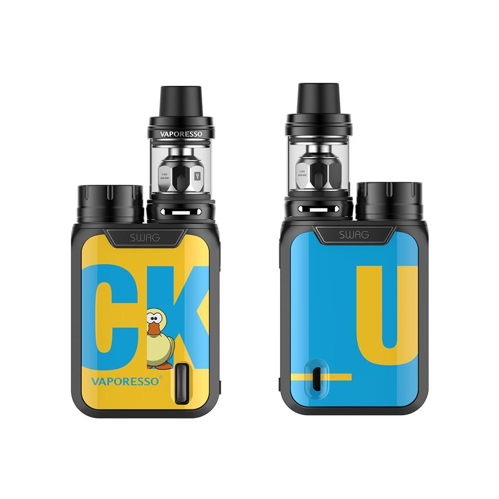 D'origine Vaporesso Butin Kit Electronci Cigarette Vaporisateur E-cigarettes 80 W TC Mod avec NRG SE Réservoir Utiliser GT bobine Sans 18650 Batterie - 4