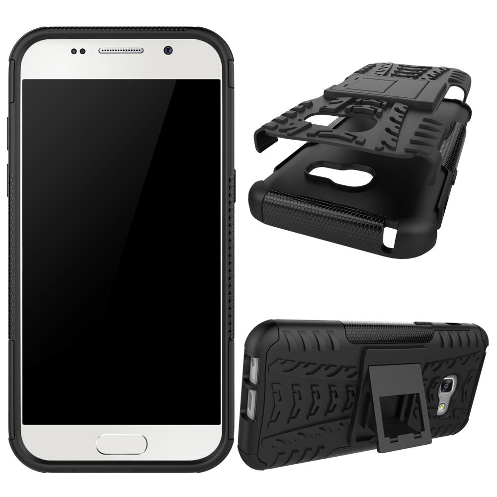 For Samsung Galaxy A3 2017 Case Tough Impact Heavy Duty Armor Hybrid Anti-knock Silicone Hard Case for Samsung A3 2017 A320