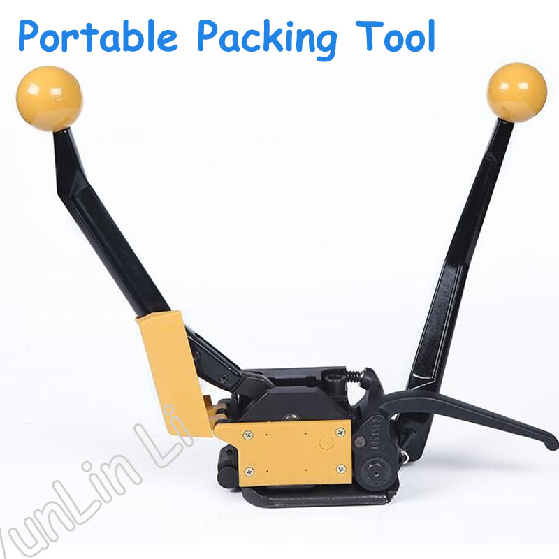Manual Steel Strapping Packing Tool Handheld Steel Strapping Packing Bander Portable Packer A333
