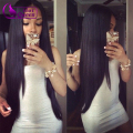 Brazilian Straight Hair Weave Queen Hair Products Virgin Straight Hair Bundles Tissage Bresilienne 3Pc Peerless Virgin Hair #1B