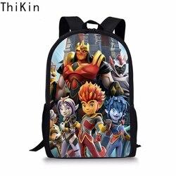 THIKIN fajne Gormiti torby szkolne dla chłopców dzieci dziewczyny tornister Plecak dzieci tornister Book Bag nastolatek Plecak Szkolny 2019 2