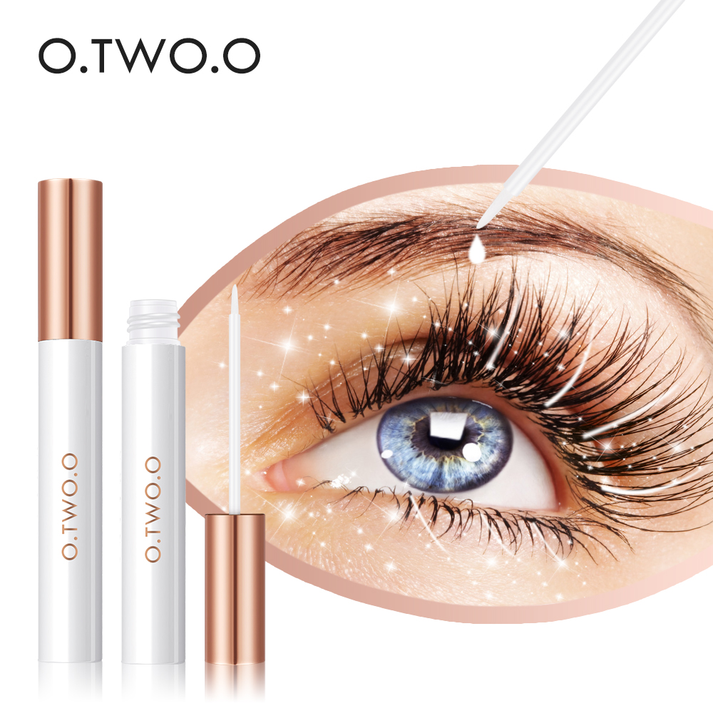 O.TWO.O New Eyelash Growth Treatments Moisturizing Eyelash Nourishing Essence For Eyelashes Enhancer Lengthening Thicker 3ml Hot