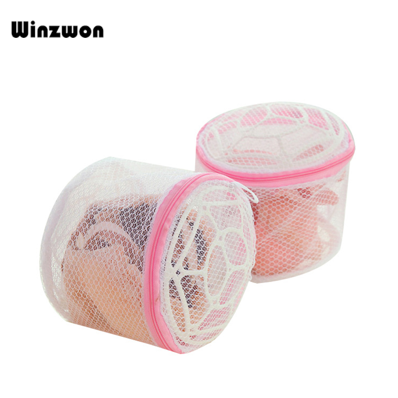 1Pcs Lingerie Laundry Bag Net Mesh Underwear Bra Cloth Washing Bag Laundry Basket Home Storage Organizer Household Cleaning Tool