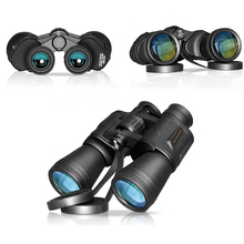 waterproof large wide-angle outdoor hiking 20×50 HD powerful Military binocular night vision for Hunting camping