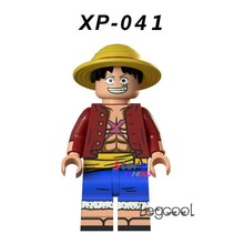 1PCS model building blocks action superheroes Monkey D.Luffy Sea Adventure Marvel DC diy toys for children gift(China)