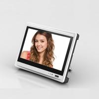 JSA 4ch 3 в 1 аналоговый AHD цифровой видеомагнитофон DVR ONVIF IP 1080 P сетевой видеомагнитофон (NVR) с 11 дюймов HD TFT ЖК экран