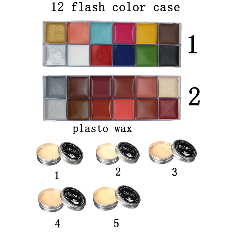 цена  Halloween akeup Wax Special Effect Makeup & Face Body Paint Oil Painting Art Make Up Set Tools Party  Modeling Fake Wound Scar m  онлайн в 2017 году