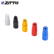 цена на ZTTO Bicycle Presta Valve caps for MTB Road Bike  French Tyre Inner Tube p Tire  Dustproof Cover Bicicleta Bicycle part