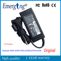 Original 19V 4.74A 90W 7.4*5.0mm AC Laptop Adapter Charger For HP Probook 4440s 4540S 4545s 6470b 6475b 6570b