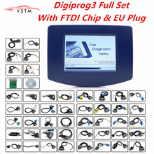 FTDI Digiprog3 Full set Digiprog 3 V4.94 Odometer programmer DigiprogIII Mileage Correct Tool Powerful For Most Cars DHL Free