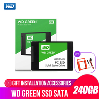 Western Digital WD GREEN PC SSD 240GB SATA 3 laptop internal sabit hard disk drive interno hd notebook harddisk disque 240gb