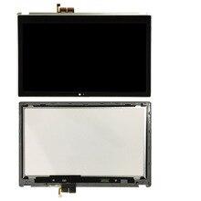 V5-571 ЖК-дисплей сенсорный экран сборка 15,6 «для acer Aspire V5-571p Ms2361 изображение ремонта дигитайзер панель ободка фары + рамка сенсорный рабочий