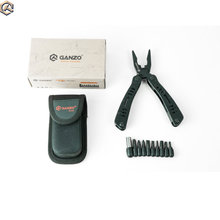 Ganzo G103 Multitool Tasche Klapp Zange Camping Überleben Messer Multi Tool Zangen Conbination Hand Werkzeuge EDC mit werkzeug tasche