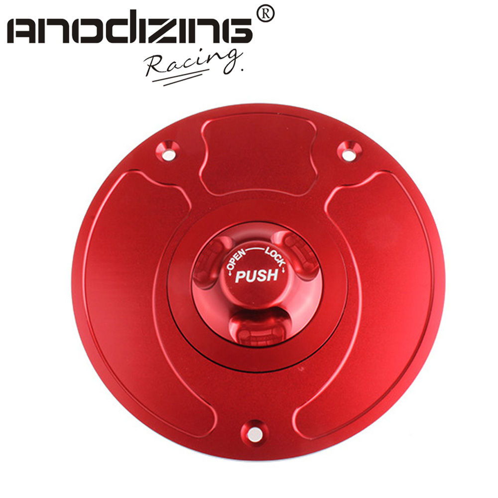 Motorcycle New CNC Aluminum Fuel Gas CAPS Tank Cap tanks Cover With Rapid Locking For HONDA  CBR 600RR 929 954 900