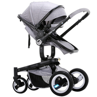 Small sun baby car baby child trolley two way light folding baby stroller
