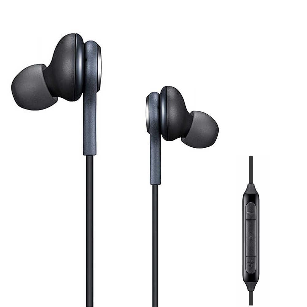 سماعات الأذن الرياضية 3.5 مللي متر سماعة رأس مزودة بميكروفون سمّاعات رأس سماعة الأذن ل xiaomi مكبس 3 سامسونج غالاكسي S8 S9 S6