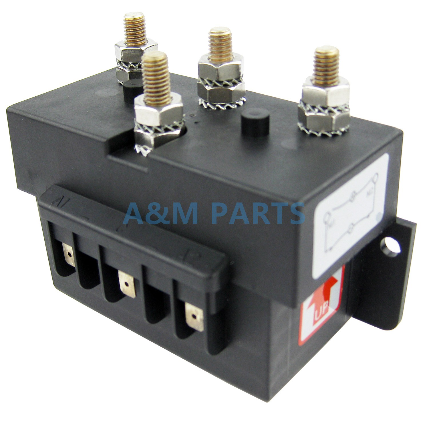Anchor Windlass Reverse Solenoid Control Box For Marine Boat Anchor Winch 12V 1500W Max