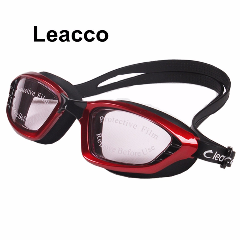 Original Waterproof Anti-fog Glasses Uv Protection Hd Swimming Goggles Eyewear 5 Color Bath Mirrors Bathroom Fixtures