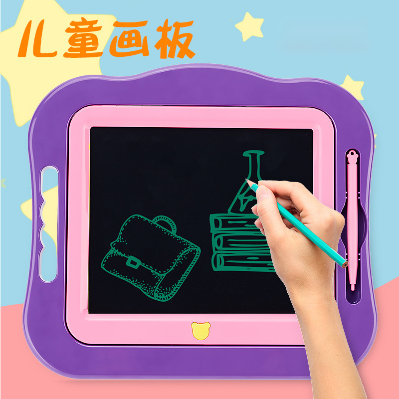 Small Board Electronic Blackboard 7.5 Inches For Girls Boys LCD Tablet Magnetic Chalkboard Bulletin Writing Board Art Flip Chart