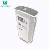 TINTENMEER Gereviseerde inkt cartridge 70 Light Grey grijs C9451A compatibel voor hp Z2100 Z3100 Z3200 Z5200 Z5400 PRINTER