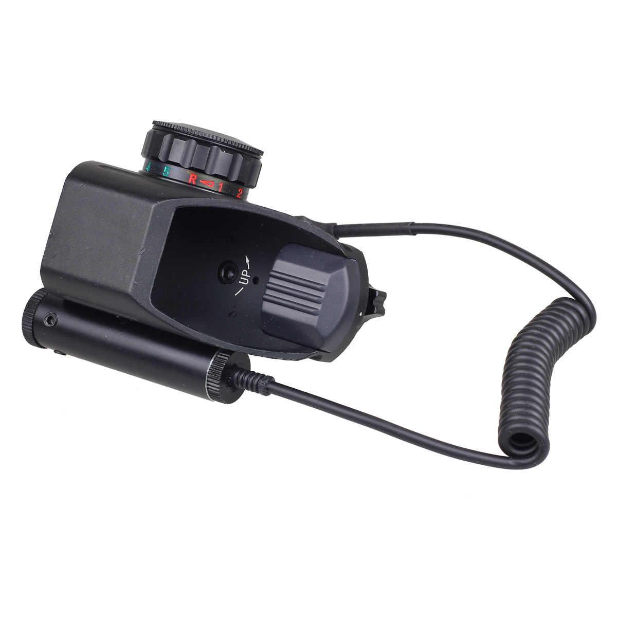 """הולוגרפית לייזר Sight רפלקס 4 אדום ירוק דוט Reticle Picatinny רכבת 20 מ""""מ עבור AR רובה 12ga רובה Airsoft ציד"""