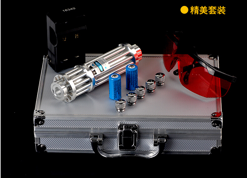 High power blue laser pointer 100000m 450nm hunting. burning match/dry wood/candle/black/burn cigarettes+5 caps+glasses+gift box high power blue laser pointer 100000m 450nm laser flashlight burning match paper dry wood candle black cigarettes gift box