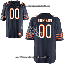 c89ff961047 Custom Football Jersey Personalized Your Names Number High School College  Logo Chicago Embroidered Team Jersey For