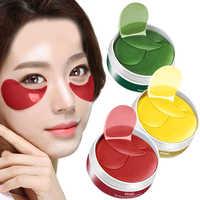 30 paar Collagen Eye Patch Gold Maske Augenringe Anti-Aging Hautpflege Kristall Auge Gesicht Blatt Masken Anti schwellungen Eye Patches